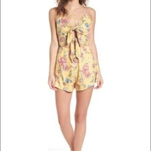 Lush Other - Lush brand double tie front romper new w/ tags.